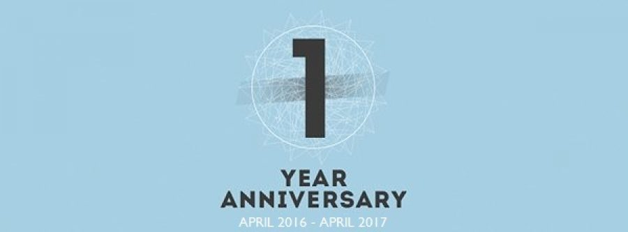 A big move for our first anniversary!
